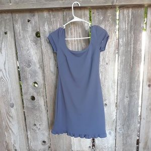 XS BCBG grey dress